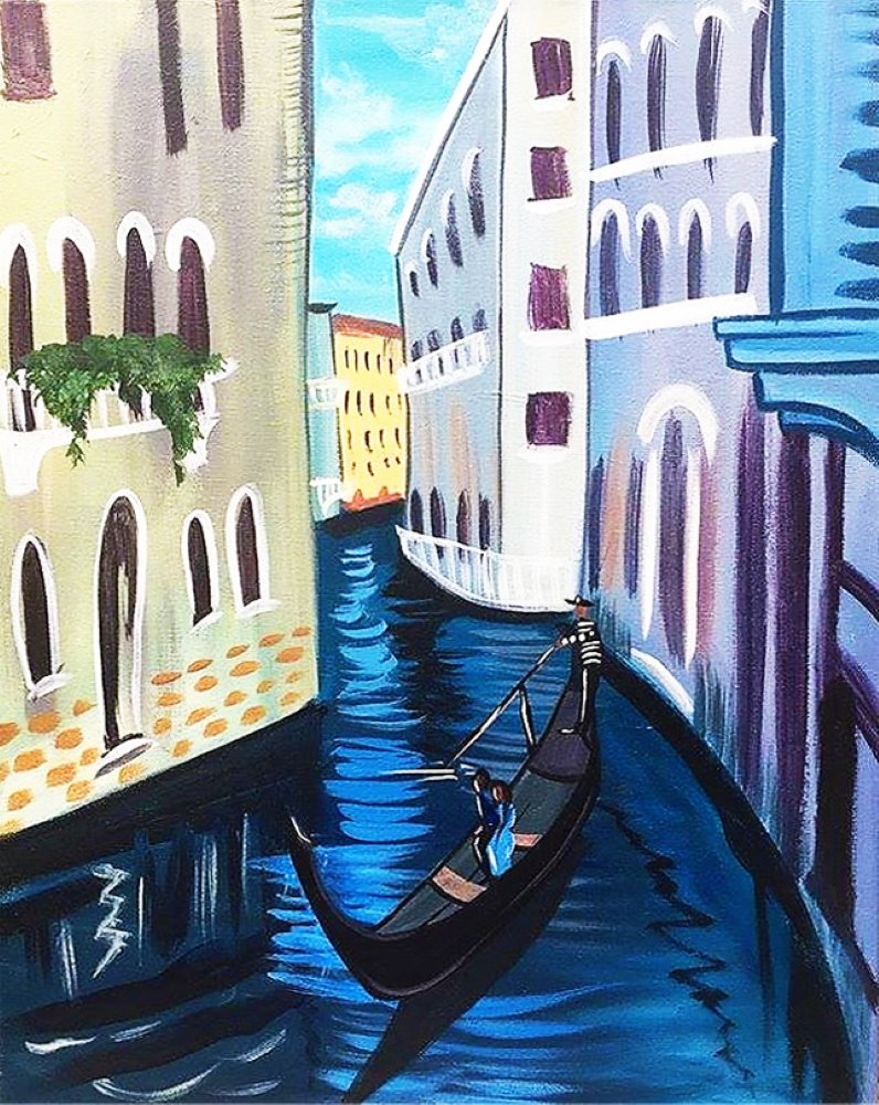 Gondola Days- Muse Paintbar