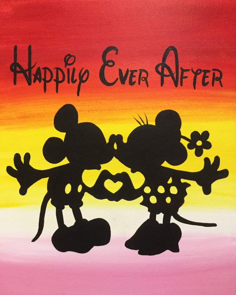 Happily Ever After- Muse Paintbar