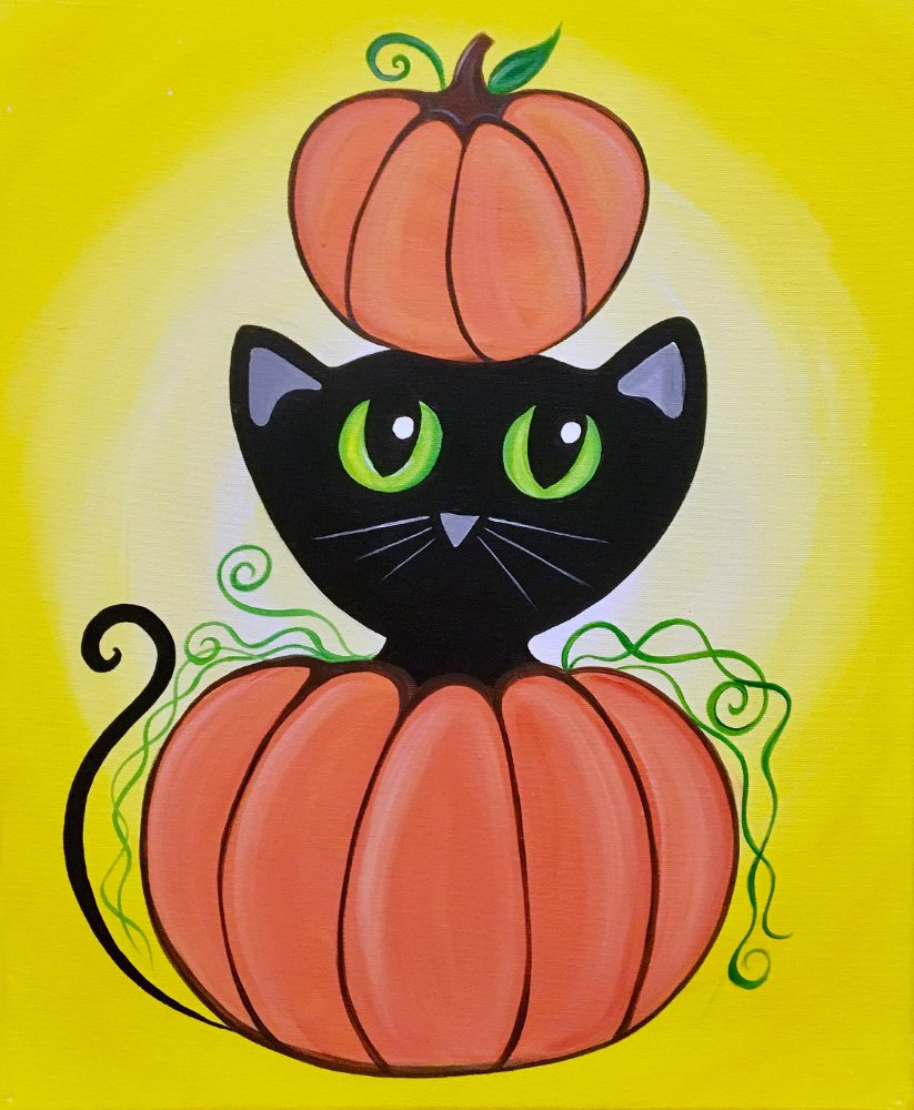 Harvest Meow - Muse Paintbar