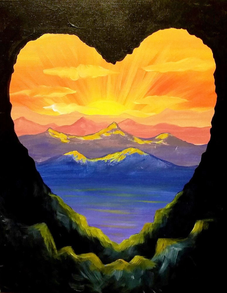 Heart Cave- Muse Paintbar