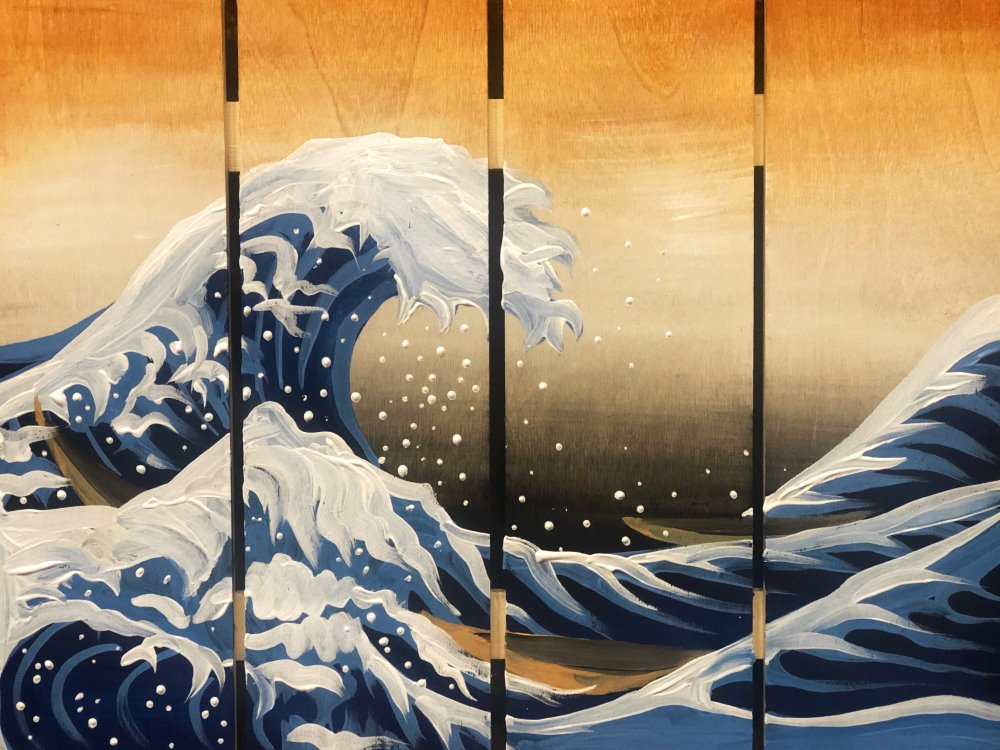 The Great Wave- Muse Paintbar