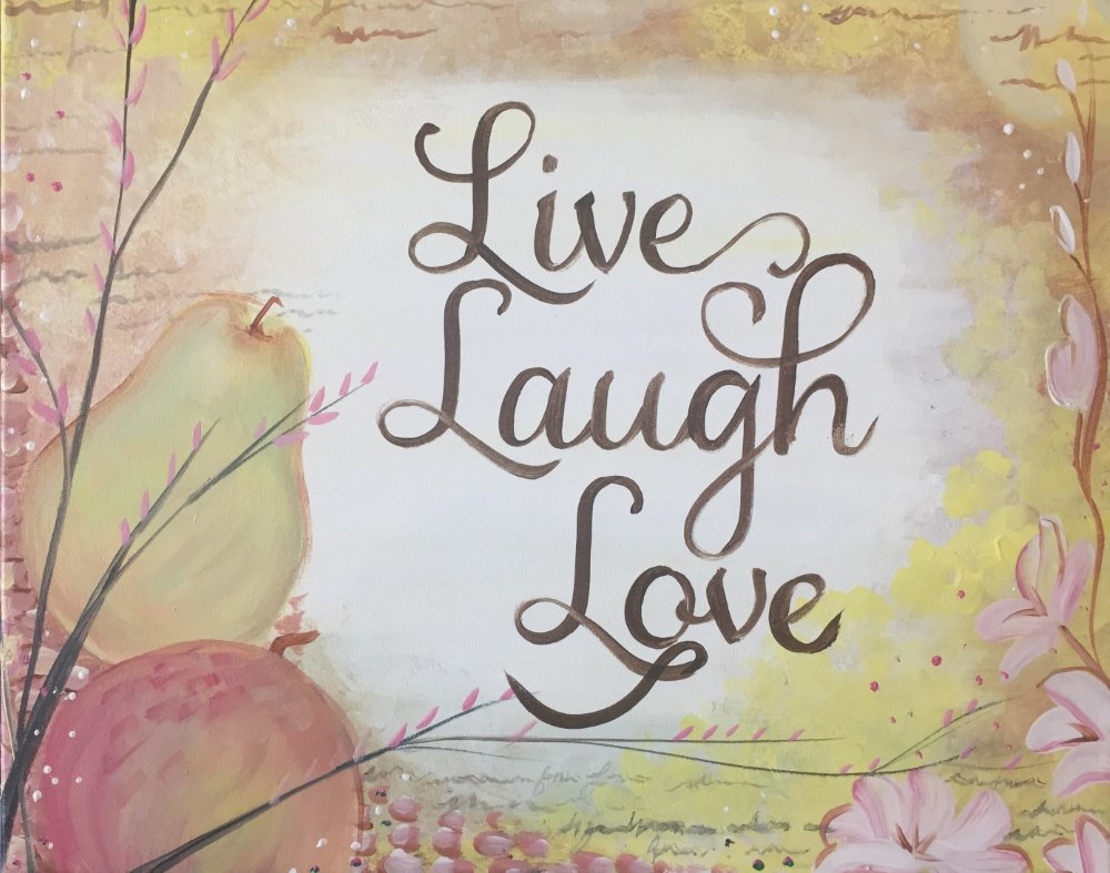 Live, Love, Laugh- Muse Paintbar