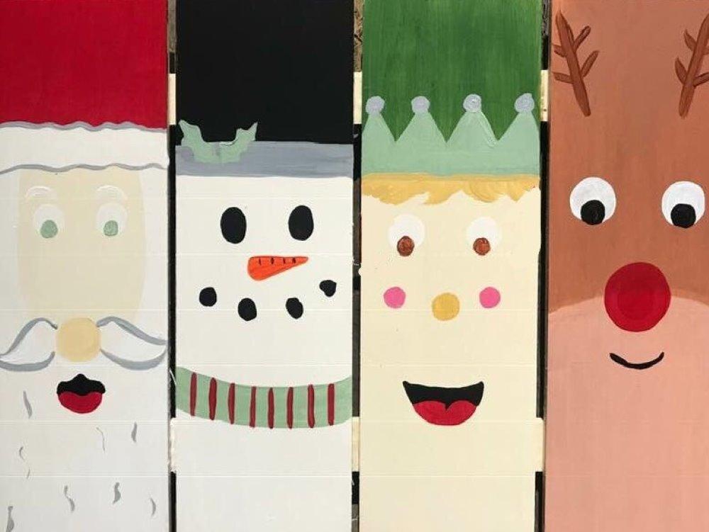 Merry Friends- Muse Paintbar