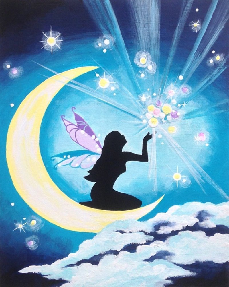 Moonlit Fairy- Muse Paintbar