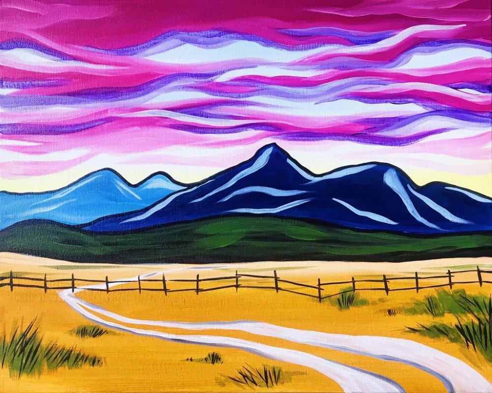 Mountains Majesty- Muse Paintbar