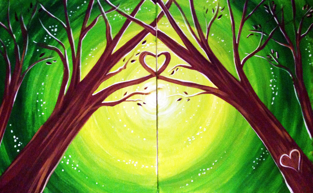 Nature's Heart- Muse Paintbar