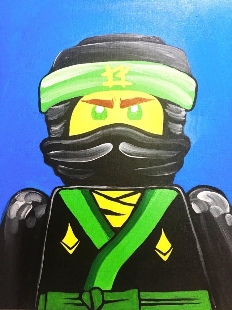 LEGO NINJAGO- Muse Paintbar