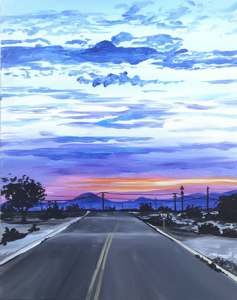 Open Road- Muse Paintbar