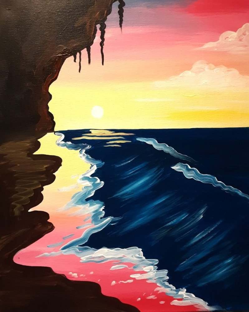 Pastel Cove- Muse Paintbar