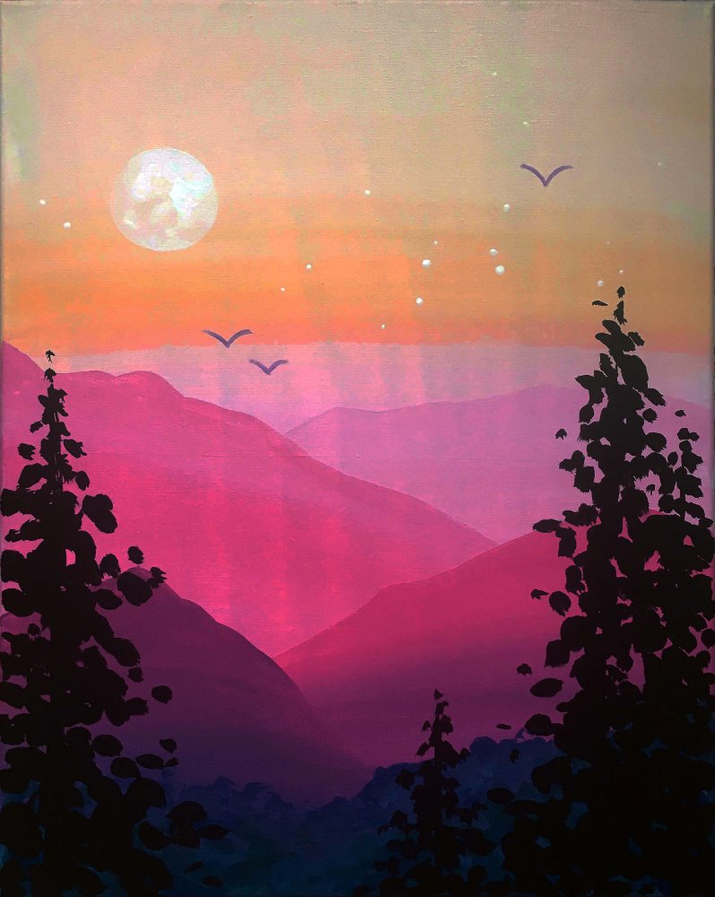 Pastel Haze- Muse Paintbar