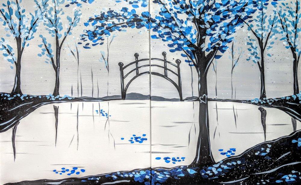 Sapphire Waltz - Muse Paintbar