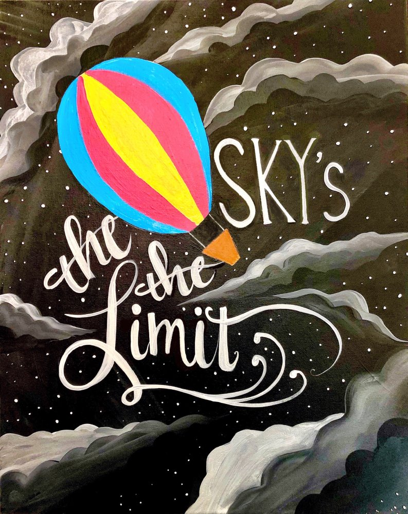 Sky's the Limit - Muse Paintbar