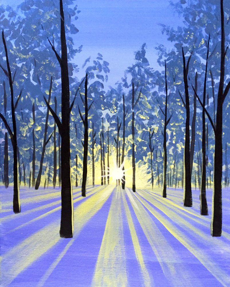 Snow Dawn- Muse Paintbar