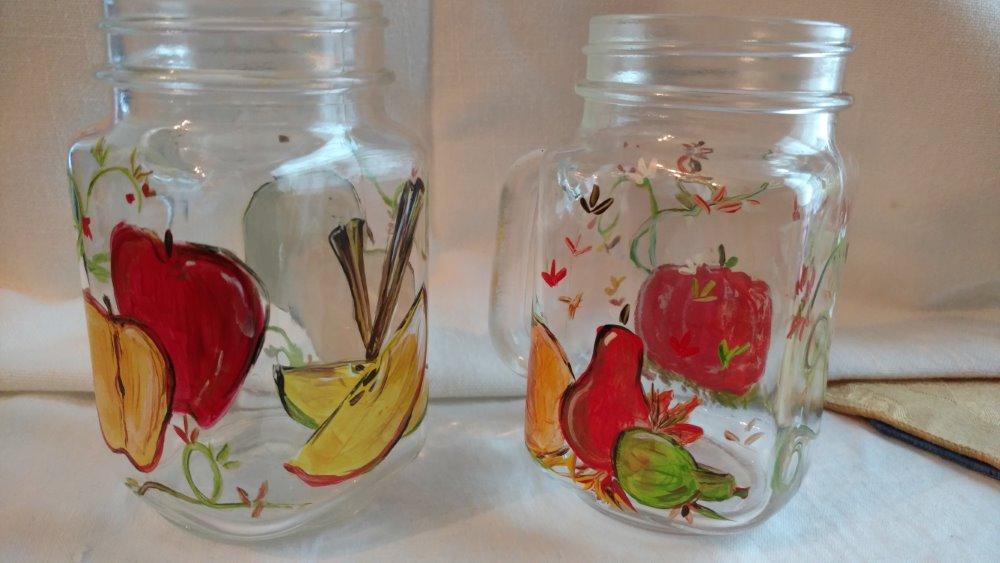 Spiced Cider Mason Jars- Muse Paintbar