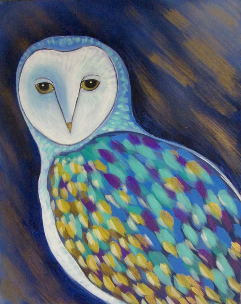 Spotted Owl- Muse Paintbar