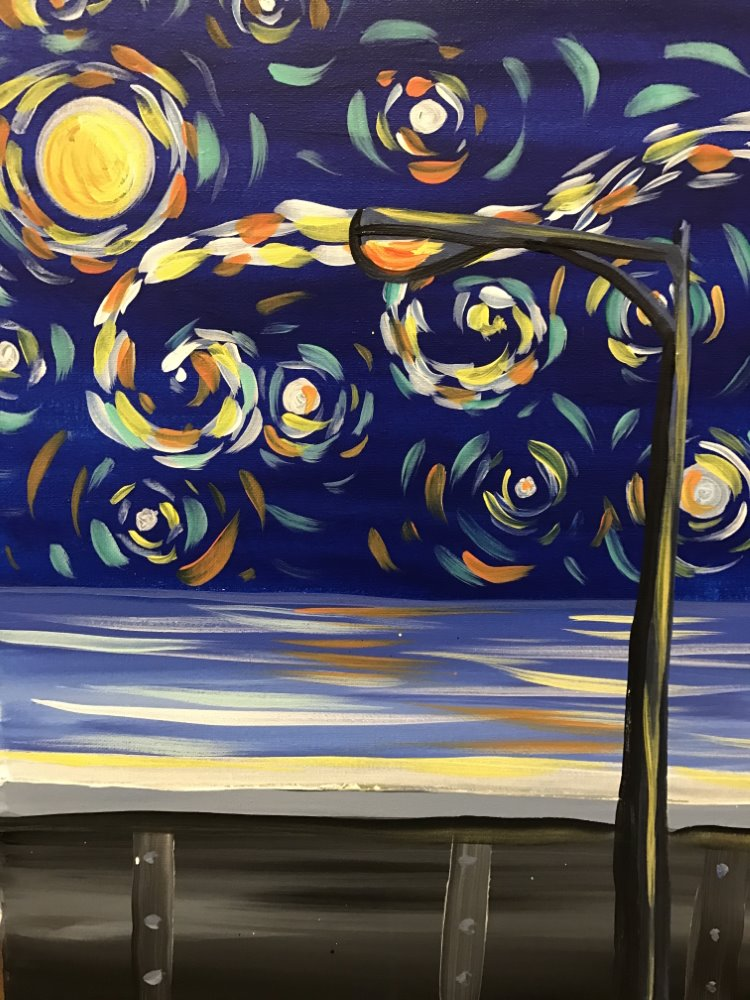 Starry Night on the Strip- Muse Paintbar