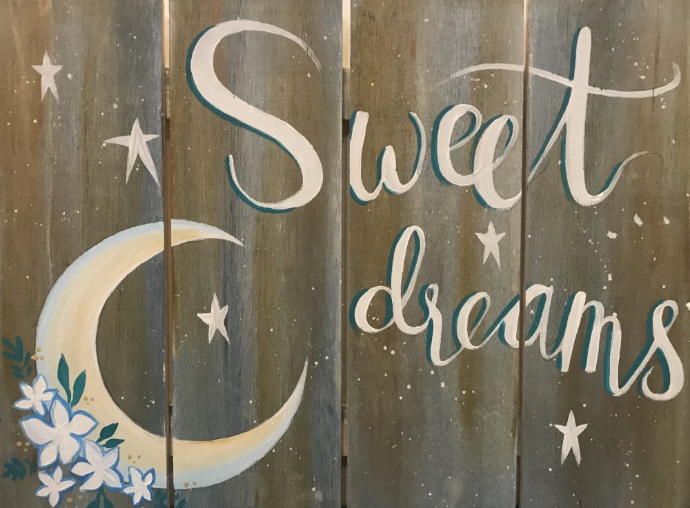 Sweet Dreams- Muse Paintbar