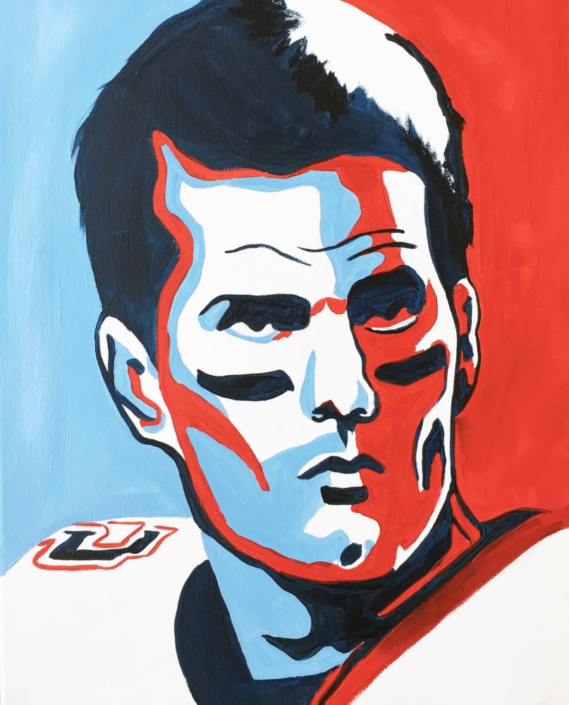 Tom Brady: The GOAT- Muse Paintbar