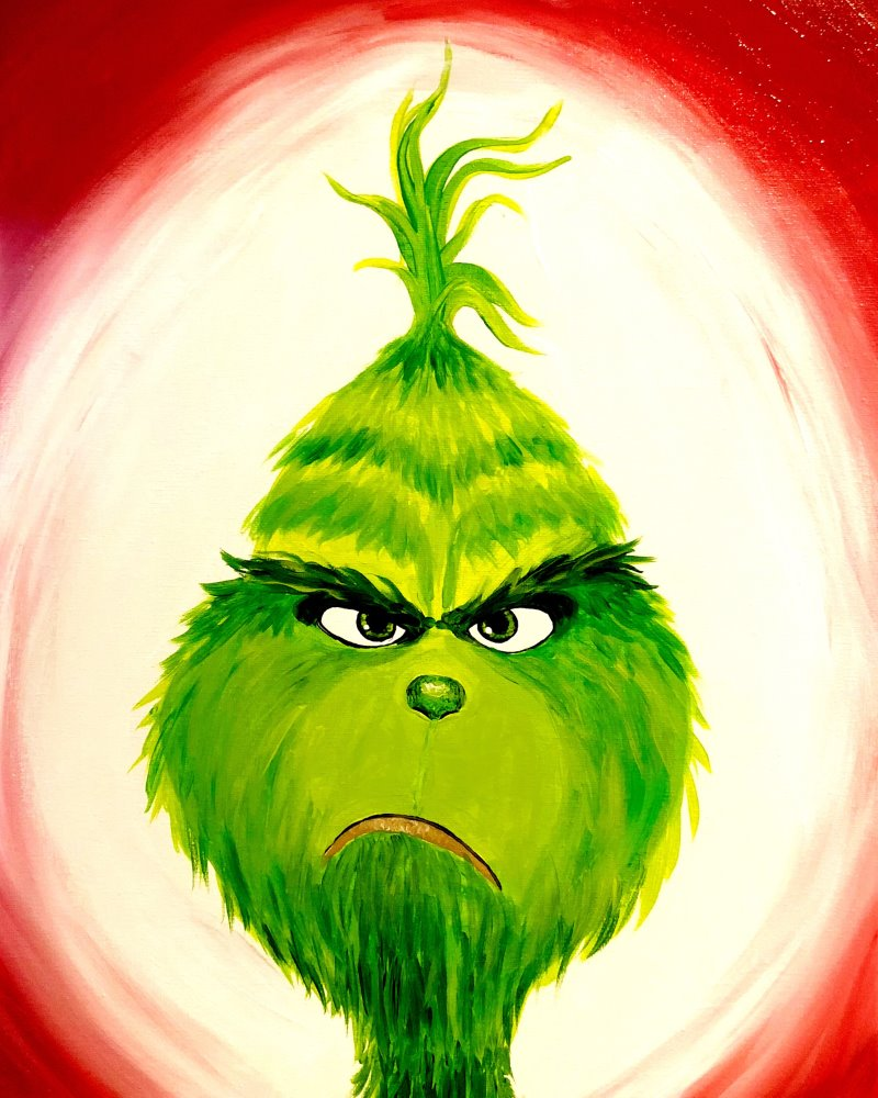 The Grinch - Muse Paintbar