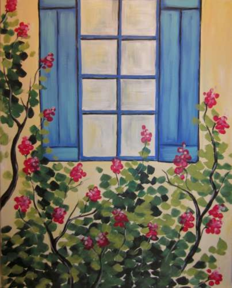 Tuscan Window- Muse Paintbar