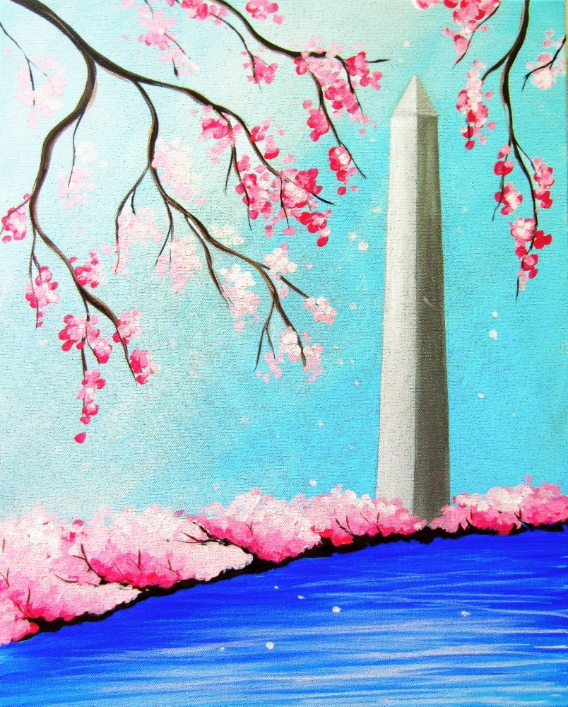 Washington Monument- Muse Paintbar