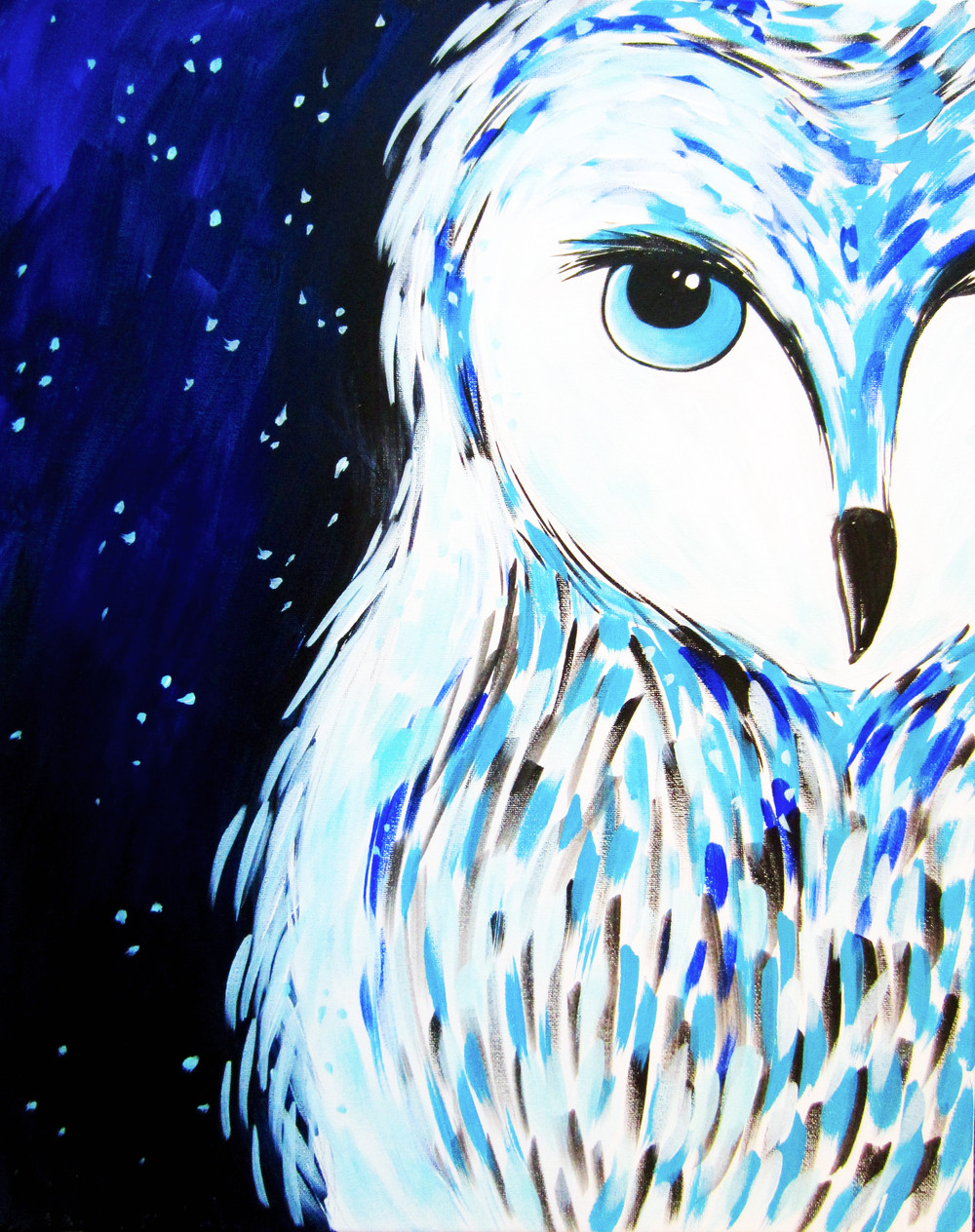 Winter Hoot- Muse Paintbar