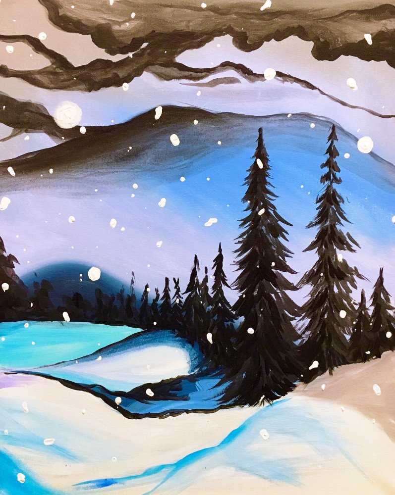 Winter Storm- Muse Paintbar