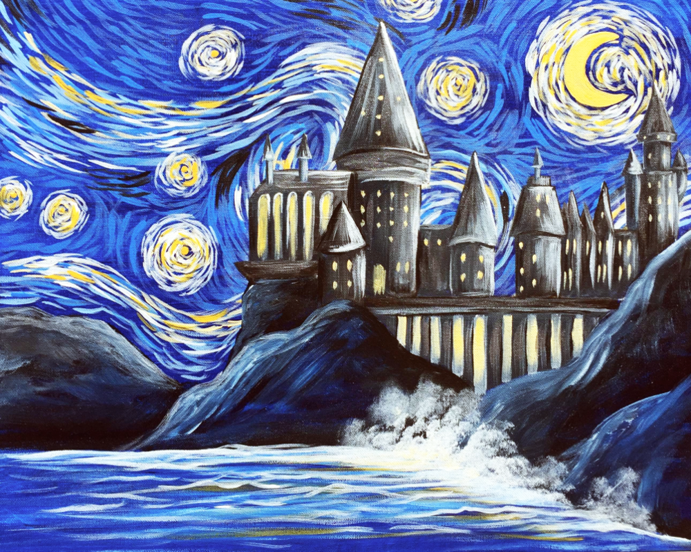 Starry Castle- Muse Paintbar