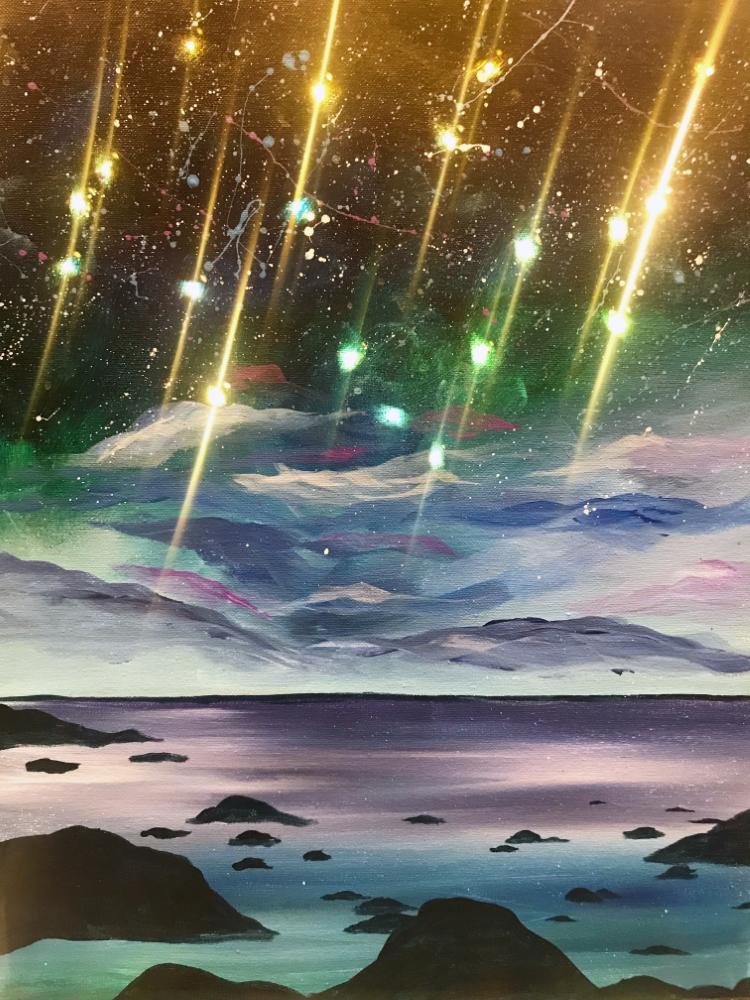 Stargazing - Muse Paintbar