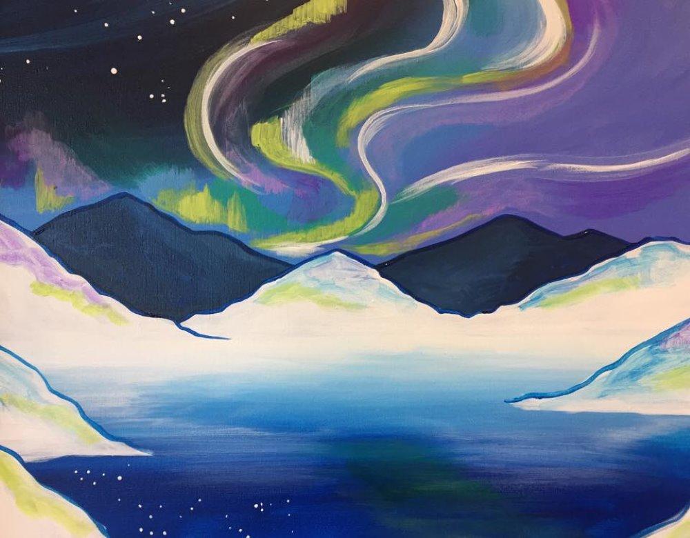 Arctic Skies- Muse Paintbar