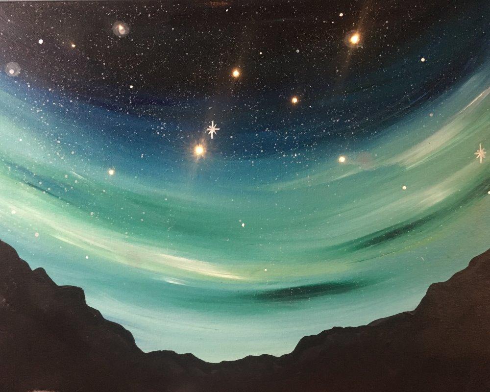 Emerald Night- Muse Paintbar