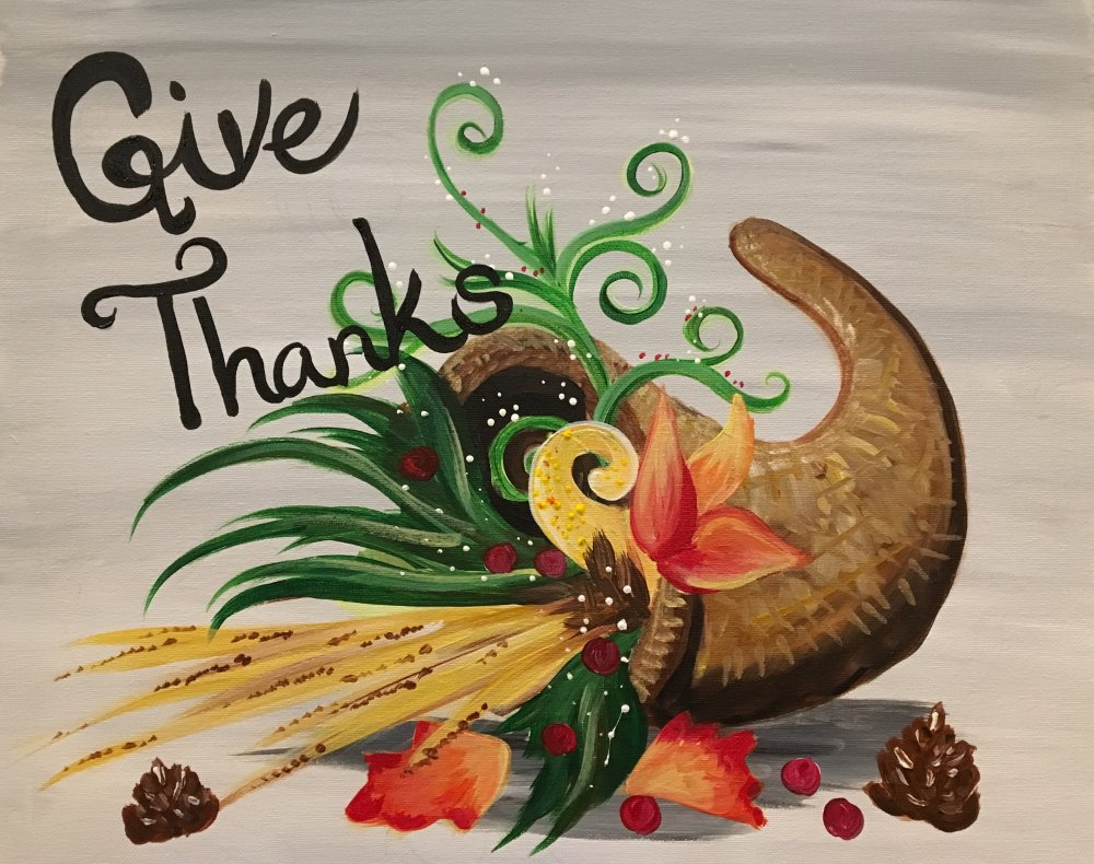 Give Thanks- Muse Paintbar