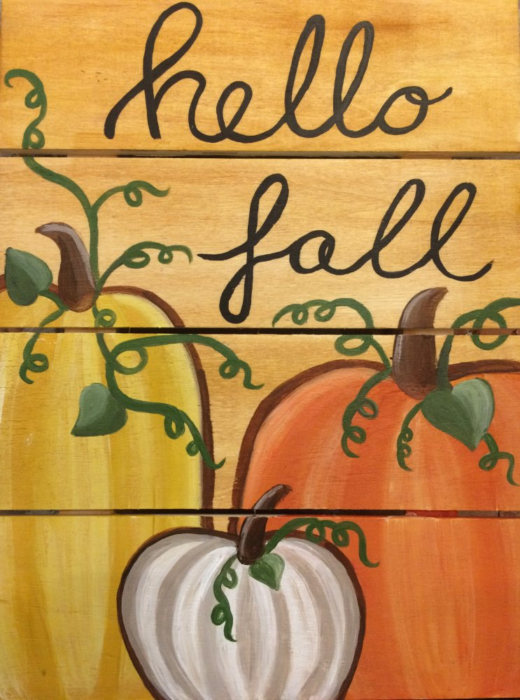 Hello Fall- Muse Paintbar