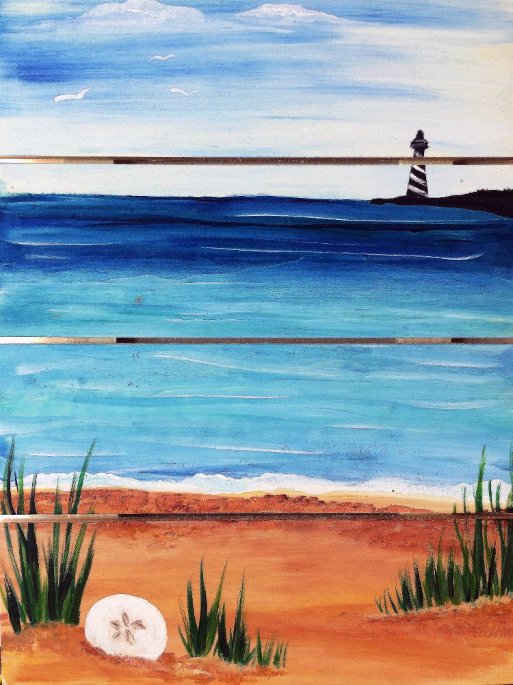 New England Shore- Muse Paintbar