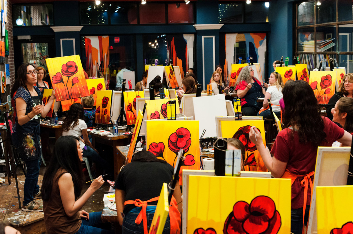 Fundraiser - Muse Paintbar