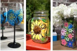 Glassware Painting - Muse Paintbar
