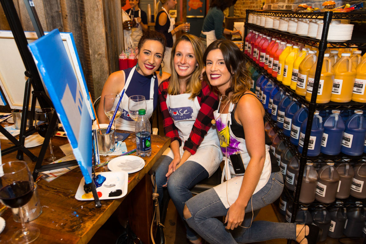 Paint for a Cause- Muse Paintbar