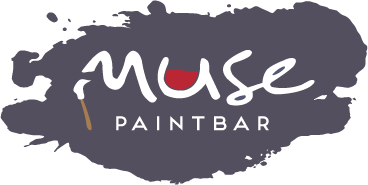 Paint Splatter Logo - Muse Paintbar