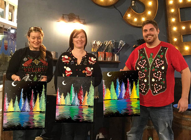 Paint & Sip Ugly Sweater Party