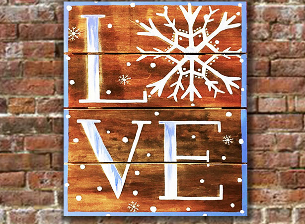Wooden Sign Painting