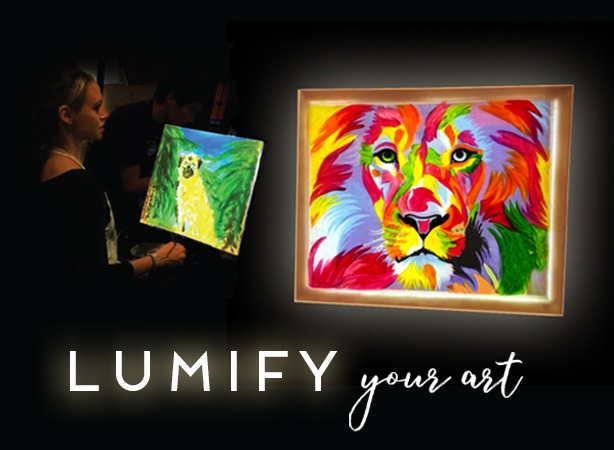 Create Custom Art Using Lightboxes
