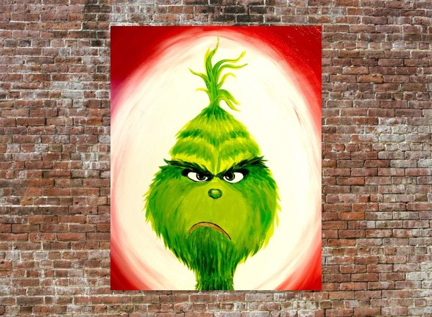Paint The Grinch!
