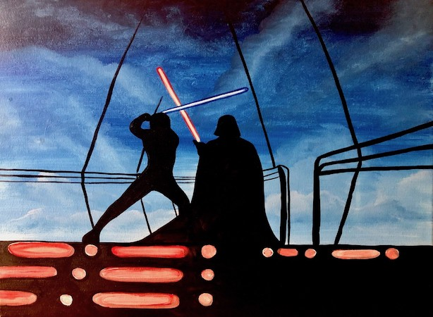 Paint Star Wars!